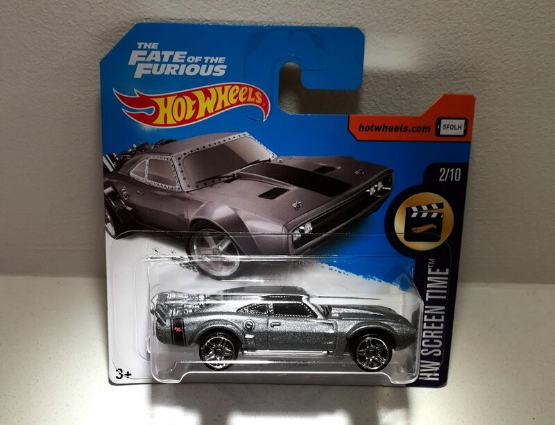 Dodge charger (Ice charger) Hotwheels 2017