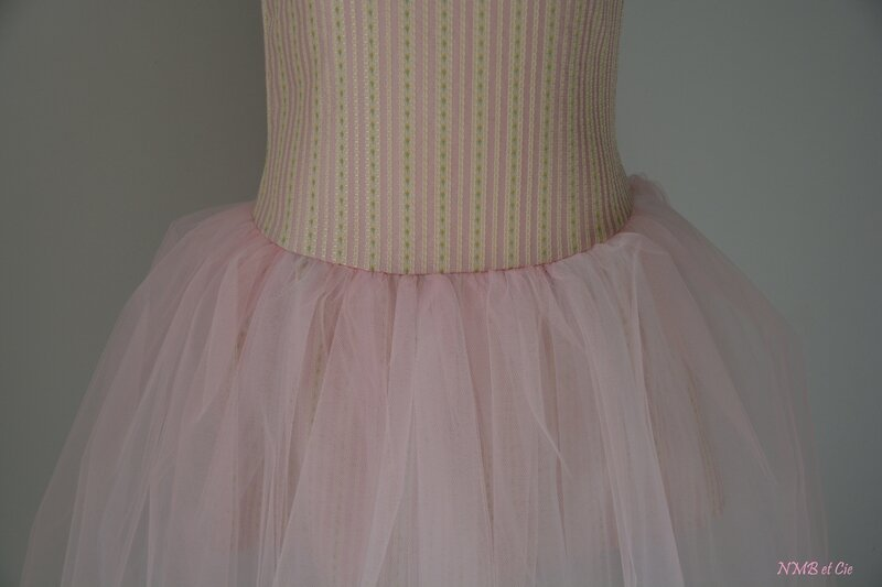montage tulle