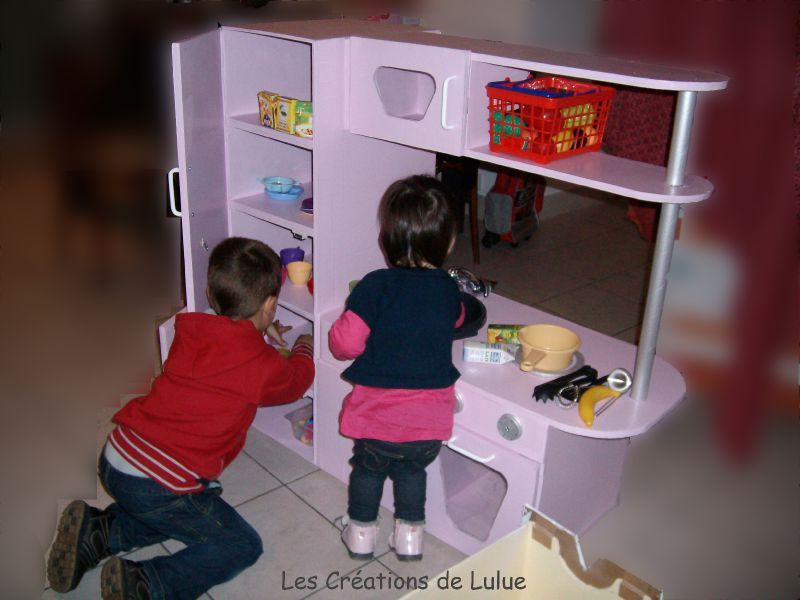 la cuisine pour enfant les cr ations de lulue. Black Bedroom Furniture Sets. Home Design Ideas