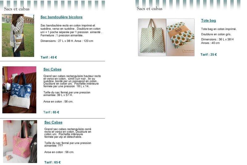 Catalogue Clocréations page 10-11