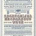 Le Grand Marquoir ABC Rouge et Bleu