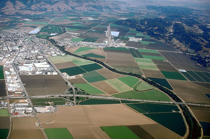 Watsonville-aerial
