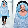 Dernière tendance en tricot pour homme !!!