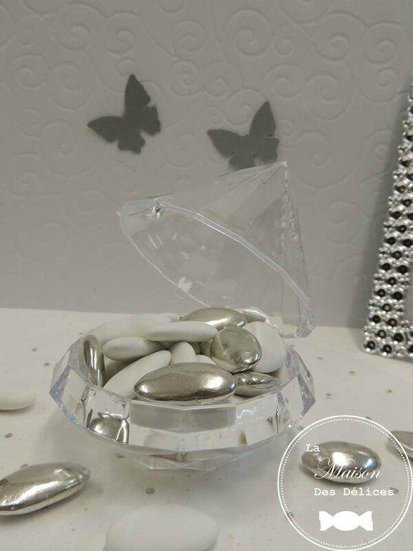 mariage oriental ou mariage thme strass et diamant - Boite A Drage Mariage Orientale