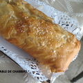 UN STRUDEL AUX POMMES PAS COMME LES AUTRES !!!!