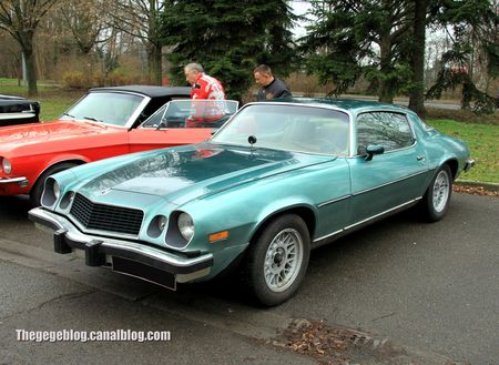 Chevrolet camaro LT de 1977 (Retrorencard janvier 2013) 01
