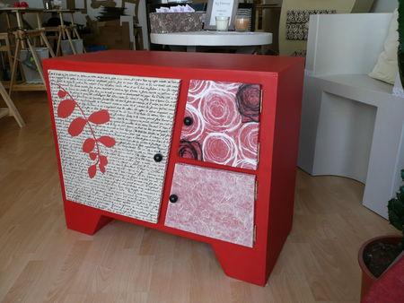 meuble tv en carton by fanny. Black Bedroom Furniture Sets. Home Design Ideas