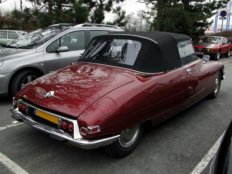 citroen ds cabriolet version us 1968 1975 b
