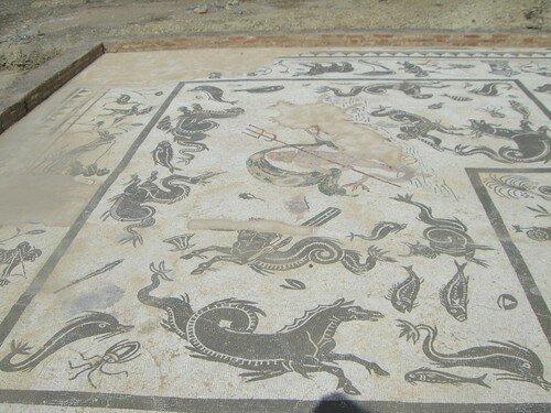 Mosaïques des Thermes d'Italica