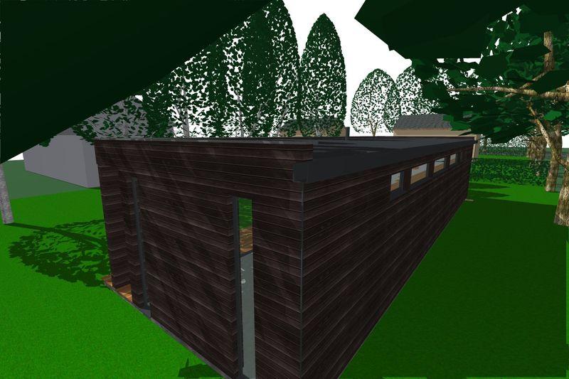 la maison dans les arbres architecture verte mich le turbin architecte en broc liande. Black Bedroom Furniture Sets. Home Design Ideas