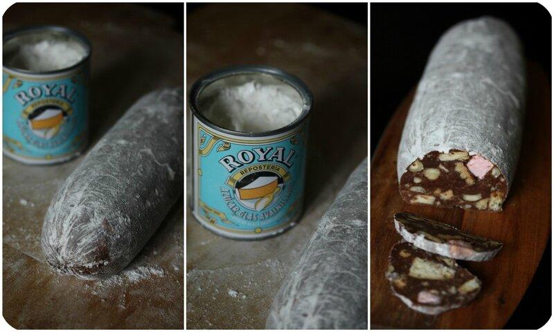saucisson au chocolat blog chez requia cuisine et confidences