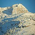 Randonnée nordique vercors - au départ de l'auberge (villard de lans)