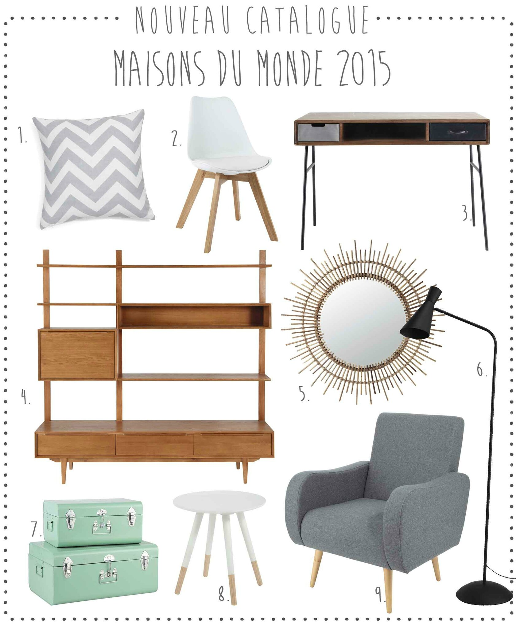 trendy nouveau le catalogue maisons du monde u with catalogue maisons du monde. Black Bedroom Furniture Sets. Home Design Ideas