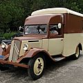 Citroën t23 camping car 1938