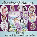 Challenge paradise of stamps