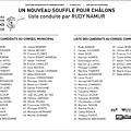 2014 Francis liste Un Nouveau Souffle Pour Châlons
