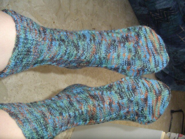 chaussettes taille 37 / Opal Smoke