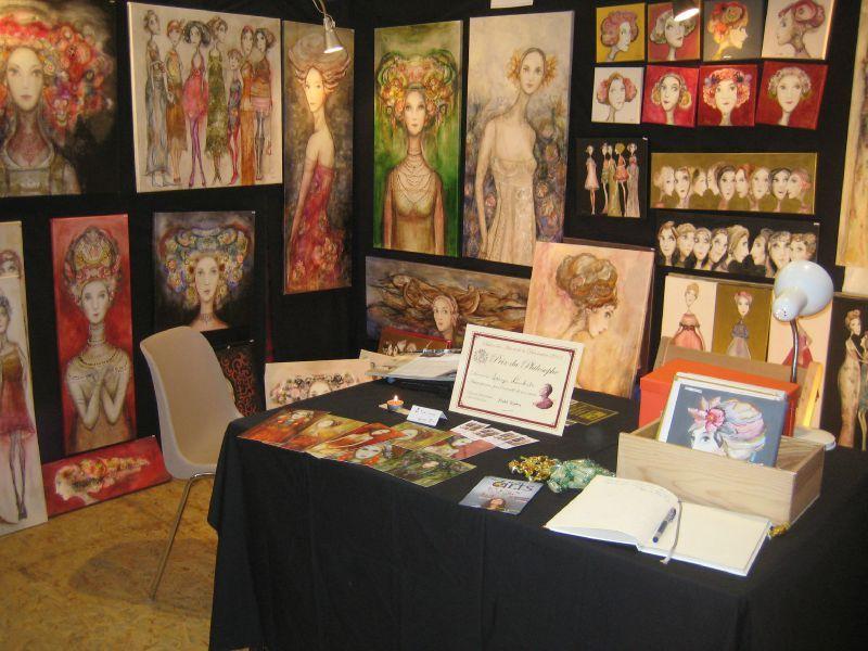 Expos peinture de l 39 instant for Prix stand salon
