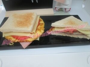 Sandwich à l'omelette19