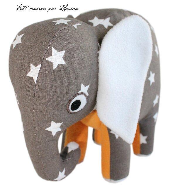 Doudou Fait Maison Doudou éléphant 100 Maison