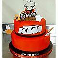 Gâteau ktm