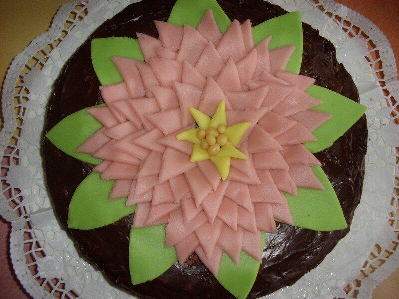 Très Gâteau fleur de lotus - Le bric-à-brac de Malela LN04