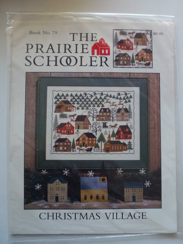 THE PRAIRIE SCHOOLER CHRISTMAS VILLAGE #79