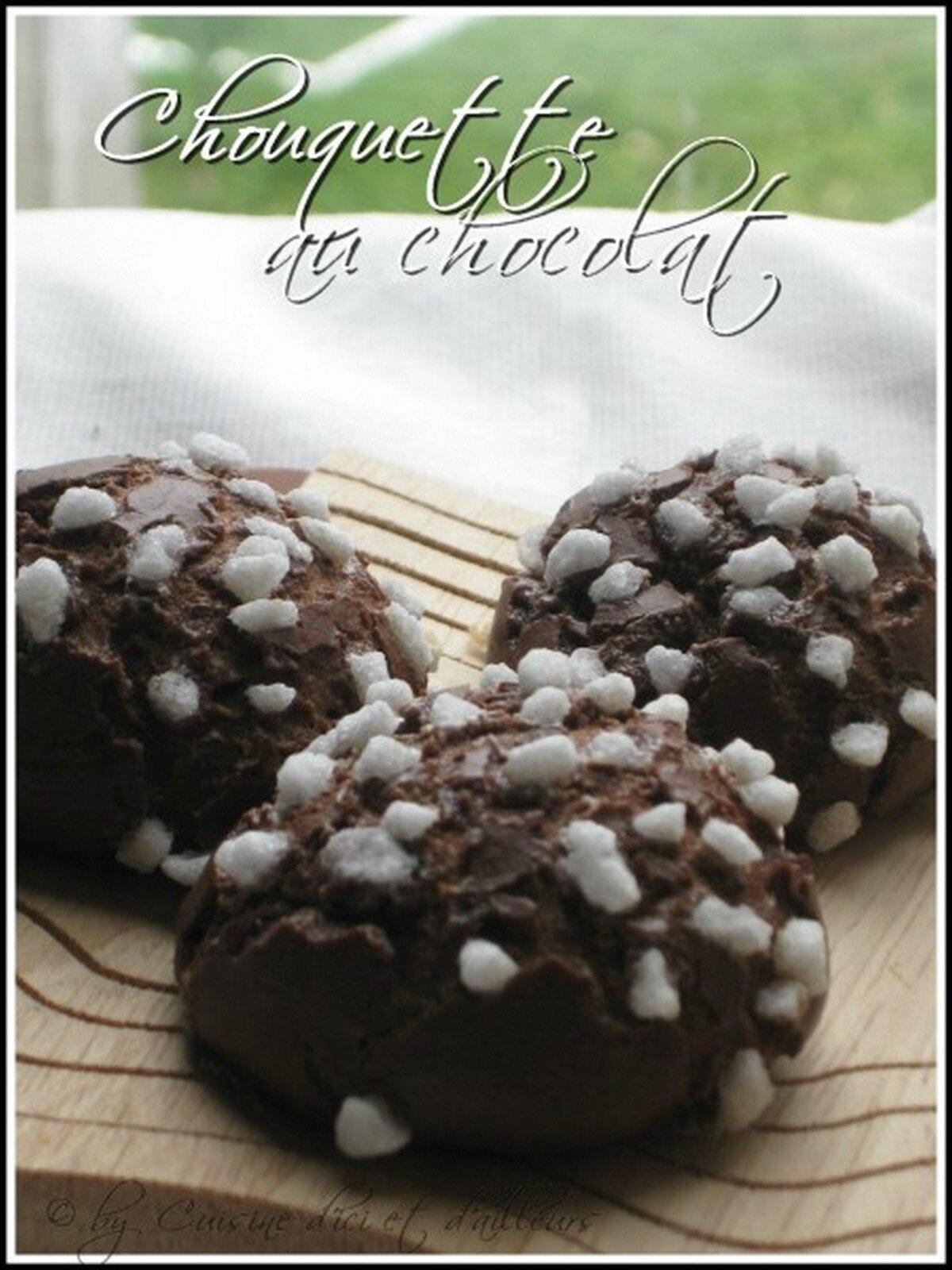 Chouquettes au chocolat & sucre perlé