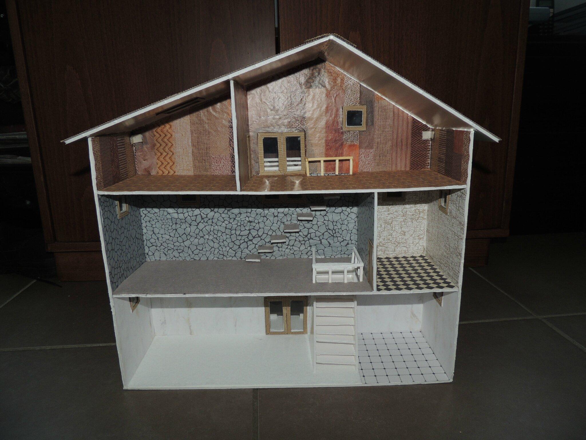 maison miniature tenshi 39 s creations. Black Bedroom Furniture Sets. Home Design Ideas