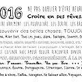 Bienvenue 2016
