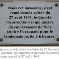 28 aout 1944, libération de nice