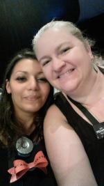 Avec ma marraine Sandrine Ricodeau ;)