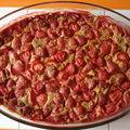 Clafoutis aux fraises sans gluten et sans lait