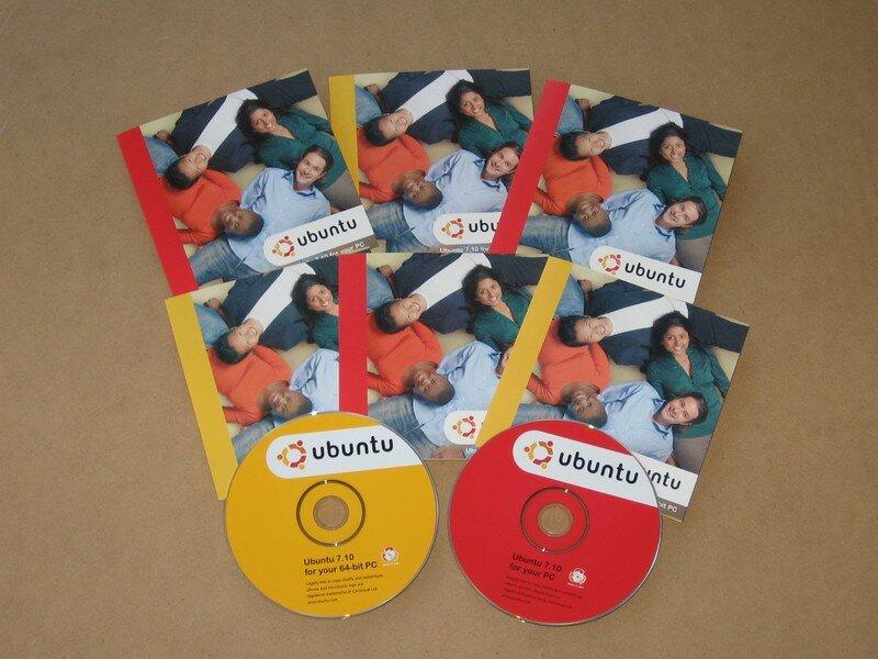 CD gratuits d'Ubuntu 7.10