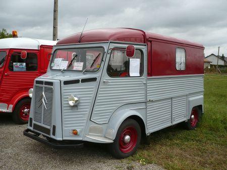 CITROËN type HY aménagé camping-car 1970 Holving (1)