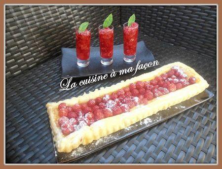 tarte aux framboises 2