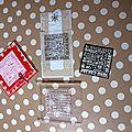 Un tampon, 3 cartes différentes