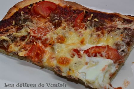recette de pizza, facile, bio, sauce tomate