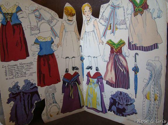 poupée normande à habiller