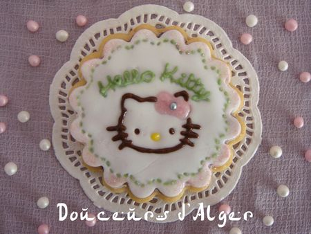 cookie hello kitty