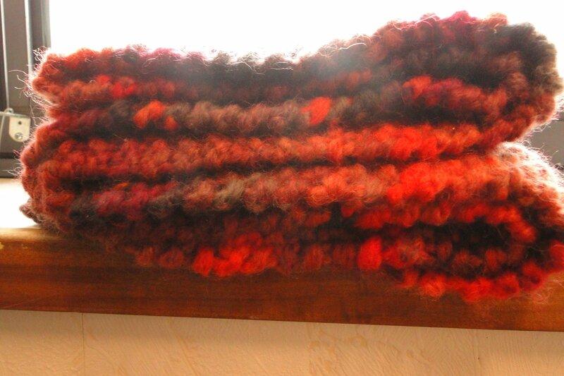 écharpe pliée 2