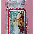 sac lavande transfer Père Noël Ange