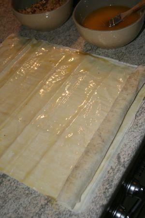 Comment faire baklawa rolls Minouchka 4
