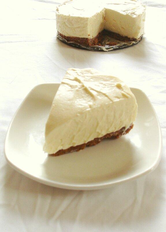 cheesecake au chocolat blanc et spéculos 2
