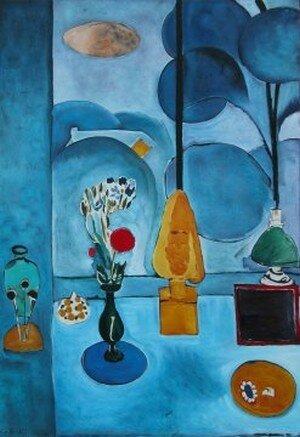 La fen tre bleue le perroquet bleu r ve ta vie for Matisse fenetre ouverte