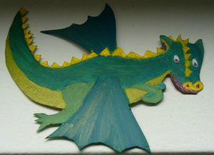4 le dragon en couleur