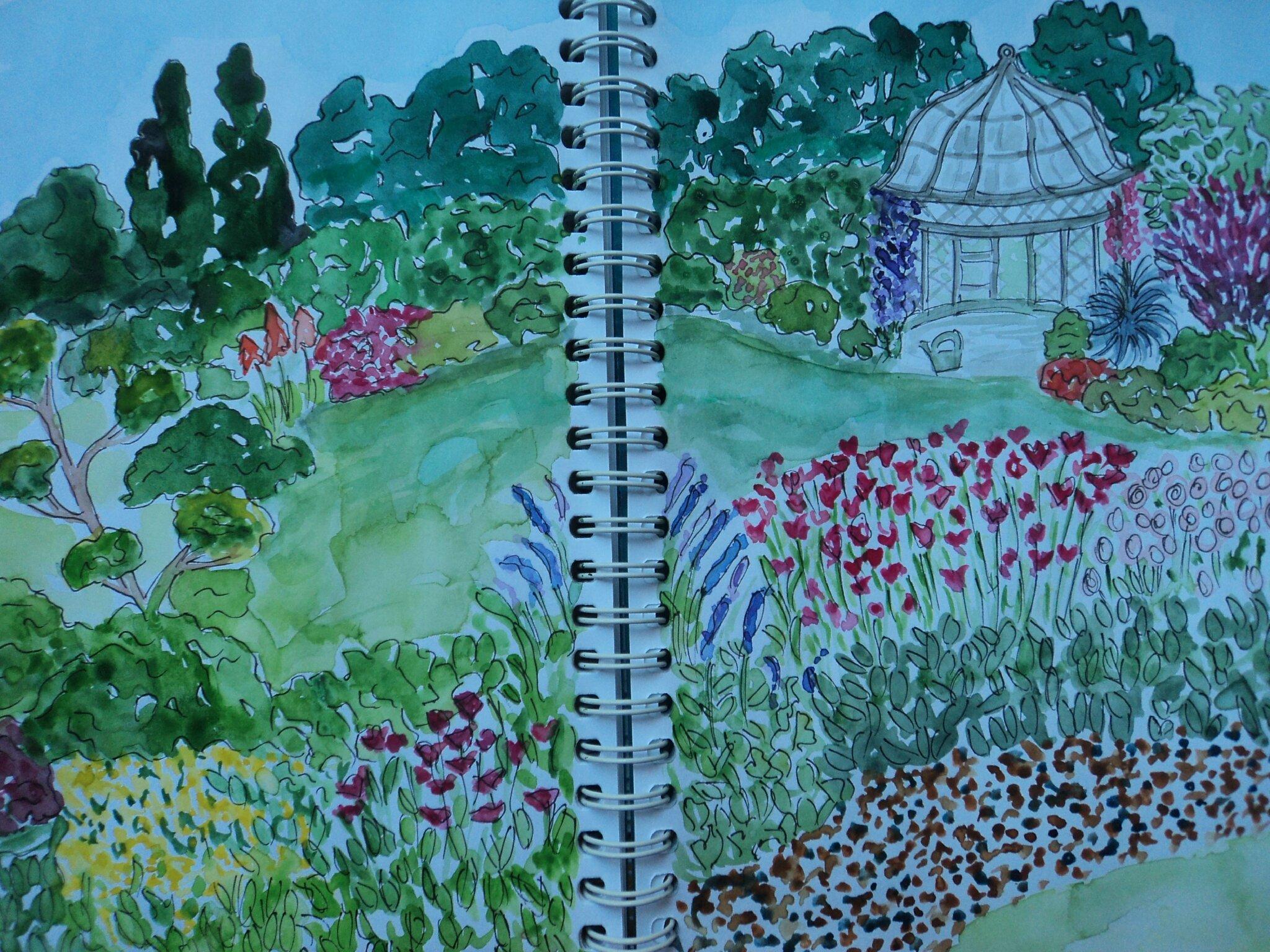 Promenade dans les jardins imaginaires le ptit monde de for Le jardin imaginaire