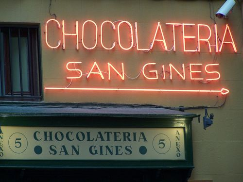 Madrid-Chocolateria San Gines