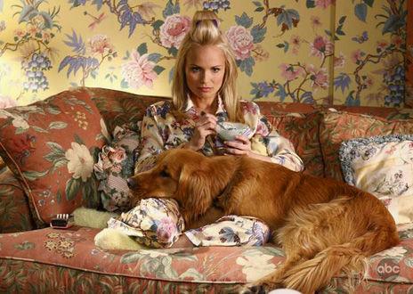Olive Snook et le chien de Ned