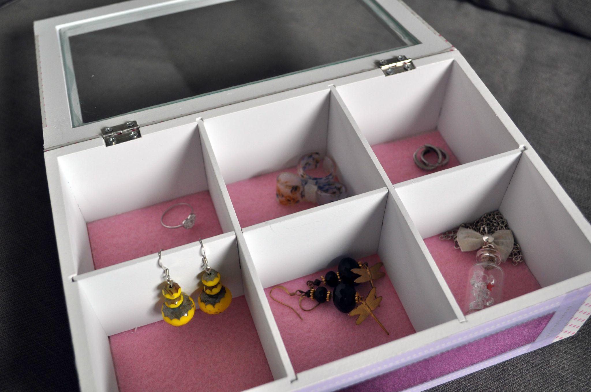 diy boite bijoux la page de vie de mlleor. Black Bedroom Furniture Sets. Home Design Ideas